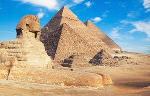Piramide e Sfinge