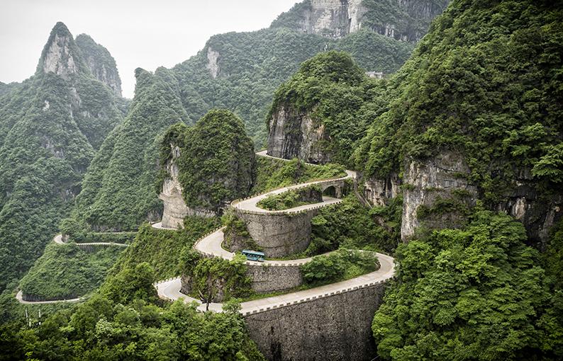 Tianmen Mountain Road