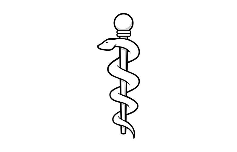 Significato e simbologia Bastone di Asclepio