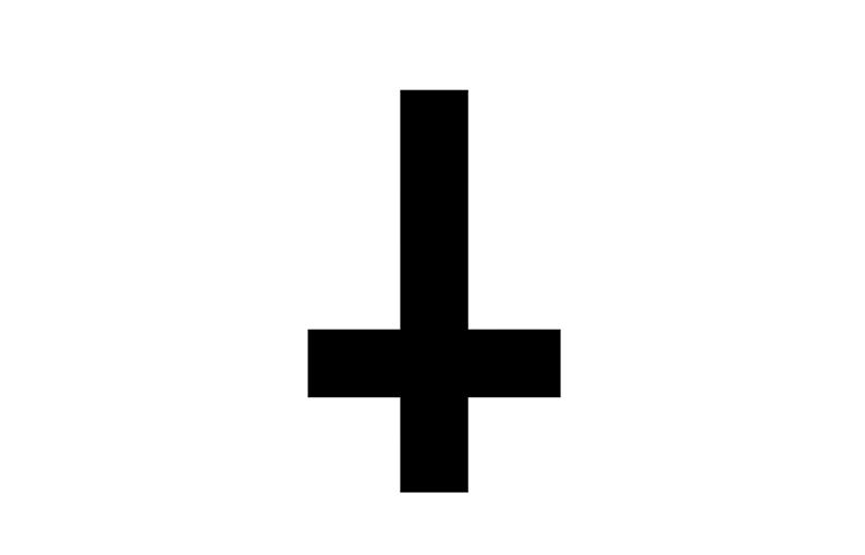 Significato e simbologia Croce Rovesciata