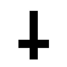Significato e simbologia Croce Rovesciata P