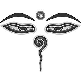 Significato e simbologia Occhio di Buddha P